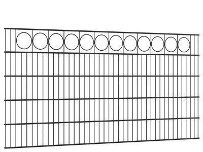 Sierhekwerk met ring 200 cm breed en 100 cm hoog