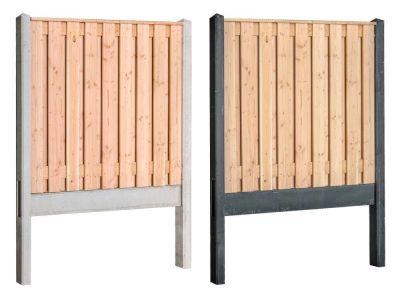 Douglas hout beton schutting pakket