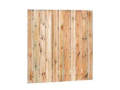 Grenen tuinscherm 21 planks