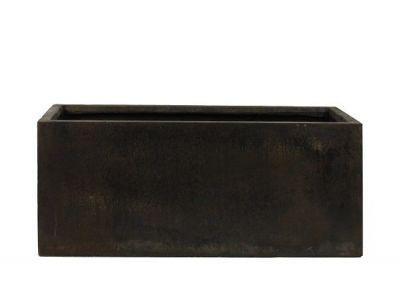 plantenbak static 150 cm zwart