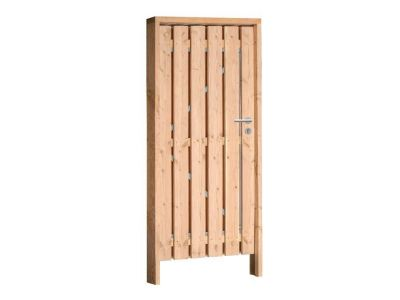 Douglas poort inclusief hang en sluitwerk 100 x 190 cm