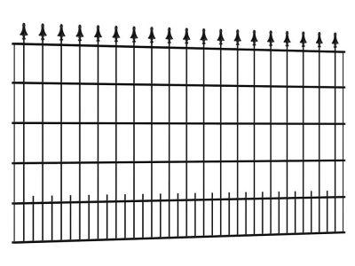 Sierhekwerk Sagitta | 2 meter breed | zwart